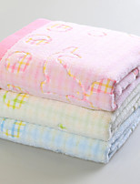 Serviette de bain-Fil teint- en100% Coton-140*70cm(55