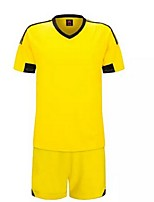Others Men's Short Sleeve Soccer Clothing Sets/ Quick Dry / Wicking Others Fitness  / Football / Running