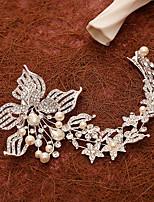 Women's Pearl / Rhinestone / Alloy Headpiece-Wedding / Special Occasion Flowers / Hair Clip 1 Piece