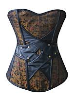 Set de Corset / Grande Taille / Serre Taille / Corset / Robes Corset Lacet Nylon / Polyester / Polyuréthane Femme