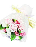 savon nouveauté romantique rose fleur cadeau pour les amateurs de lavage