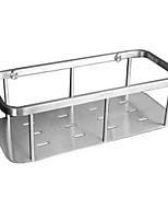 Stainless steel bathroom storage storage rack single wire drawing
