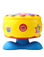 Yellow Child Hand Drums for Children All Musical Instruments Toy