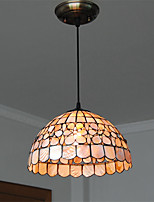 12 inch Retro Tiffany Pendant Lights Shell Shade Living Room Dining Room light Fixture