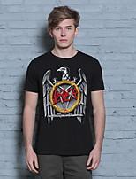 2016 Summer Men's Cotton Short Sleeve T-Shirts Brand 3D Eagle T-Shirt New Novelty Cool