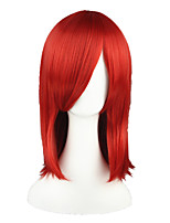 Kuroshitsuji-MADAME ROUGE Wine Red 18inch Anime Cosplay Wig CS-025A