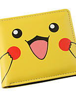 Inspired By Pocket Little Monster Pikachu PU leather Wallet