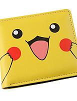 inspiré par poche petit monstre pikachu pu portefeuille en cuir