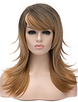 Popularly Women Lady Ombre Color Synthetic Wigs Hot Sale In European And America