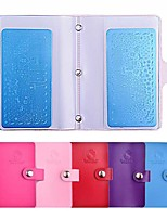 20slots прямоугольные пластины для ногтей штамповки пустой шаблон организатор случае держатель для 6см * 12см трафарета хранения альбома