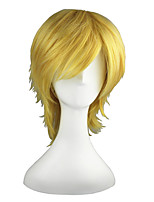VocAloid-LEN Blonde 14inch Anime Cosplay Wig CS-012C