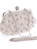 Women-Formal / Event/Party / Wedding / Office & Career / Shopping-Acrylic-Evening Bag-White