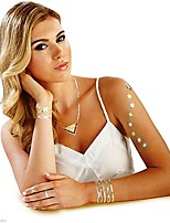 4Pcs/set  New Temporary Tattoos Hot Jewels Gold and Silver Tribal and Classic Costume(Random)