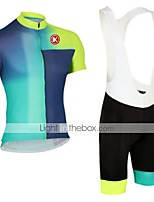 KEIYUEM®Others Short Sleeve Spring / Summer / Mountain Bike Cycling Clothing Bib Sets for Men/Women/ Breathable#44