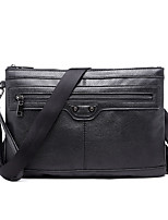Men-Formal / Sports / Casual / Outdoor / Office & Career / Shopping-PU-Shoulder Bag-Black