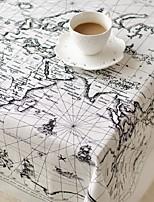 carte table de motifs mode mondiale en tissu hotsale de haute qualité draps en coton table basse carrée couverture en tissu éponge
