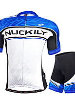 NUCKILY Cycling Clothing Sets/Suits / Arm Warmers Men's Bike Breathable / Ultraviolet Resistant / Reflective Strips / Back PocketShort