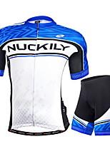 Sets de Prendas/Trajes(Azul) -Transpirable / Resistente a los UV / Bandas Reflectantes / Bolsillo trasero- deEscalada / Deportes