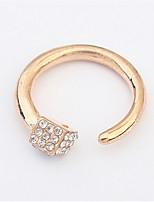 Europe Hot Irregular Squares Personalized Ring