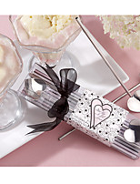 Heart Straw Stirrers and Ice cream Scoop (2pcs/box) Wedding Favors Bridal Shower Favors