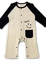 Boy Cotton Overall & Jumpsuit,Spring / Fall Long Sleeve