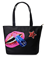 2016 han edition tide one shoulder leisure sequins tote bags