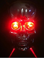 Bicycle Skull Kito Laser Taillight Bicycle Parallel Lines Taillights Bones Laser Light Mountain Bike Lights