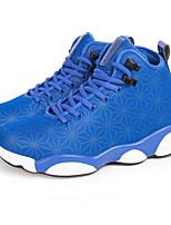 Zapatos Baloncesto Tejido Negro / Azul Hombre