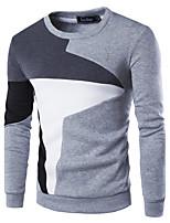 Sets Activewear Uomo Casual Collage Manica lunga Cotone / Poliestere