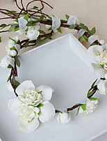 Women's / Flower Girl's Fabric Headpiece-Wedding / Special Occasion / Casual Wreaths 1 Piece