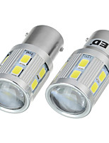 exLED 13W 1156 12V Car Reversing Light Flashlight with Cool White (2 PCS)