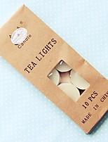 Velas(Branco,Cerâmica / Resina / Vidro / Aço Inoxidável / Cristal / Liga de Zinco) -Tema Asiático / Tema Clássico / Tema Conto de Fadas
