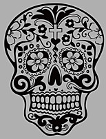 Fashion Skull Wall Mural/Decals 3D Abstract Fantasy Wall Decal for Home Decor