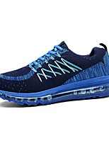 Men's Shoes Casual Tulle Fashion Sneakers Blue / Green / Pink / Red