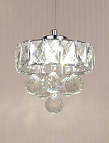 hot Modern Simple LED Crystal Pendant Lights Entry Hallway Game Room Kitchen light Fixture