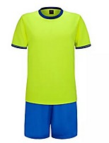 Others Kid's Short Sleeve Soccer Clothing Sets/Suits Breathable / Quick Dry / Wicking  / Football / Running