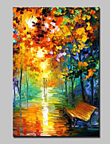 Large Canvas Oil Painting Hand Painted Modern Abstract Landscape Wall Art With Stretched Frame Ready To Hang 90x150cm