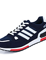 Men's Shoes Athletic Fleece Fashion Sneakers Black / Blue / Red / Gray