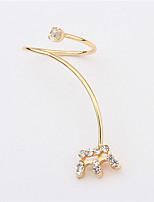 New Arrival Nail Crown Ring Daisy Shape Bezel Setting Rhinestone Fingernail Ring Fashion Ring