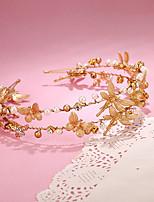 Women's / Flower Girl's Alloy / Imitation Pearl Headpiece-Wedding / Special Occasion Headbands 1 Piece
