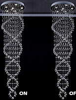 The Double Helix Design Indoor Crystal Chandelier Lighting Fixtures  D21.65