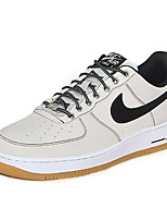 Nike Air Force 1 Low Men's Shoe Sneakers Skate Casual Walking Athletic Shoes White Silvery Black