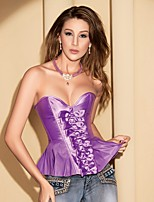 YUIYE® Women Sexy Lingerie Waist Training Corset Set Bustier Shapewear Plus Size Red Green Purple S-2XL Overbust Corset