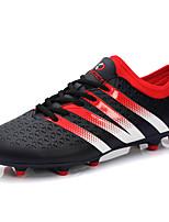 Zapatos Fútbol PU Negro / Naranja Hombre