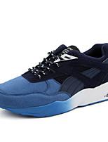 Scarpe da uomo-Sneakers alla moda-Tempo libero / Casual / Sportivo-PU (Poliuretano)-Nero / Blu / Grigio
