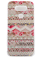 For LG Case Case Cover Pattern Back Cover Case Lines / Waves Soft TPU for LG