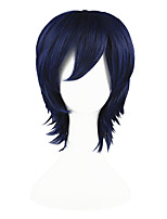 Shugo Chara-Yoru Dark Blue 14inch Anime Cosplay Wig CS-005A