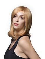 encanto de longitud med remy recta pelucas de cabello humano sin tapa propias de una dama de la mujer