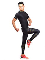Running Tracksuit / Base Layers / Compression Clothing / Leggings / Tops / Bottoms / Clothing Sets/Suits Women's / Men's Short Sleeve