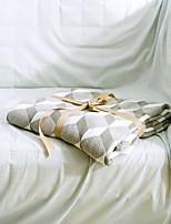 Geometric Knitted Blanket Full Cotton 59